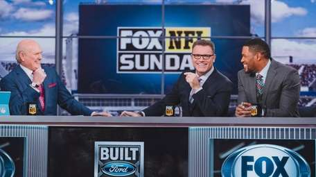 Terry Bradshaw, Howie Long and Michael Strahan on