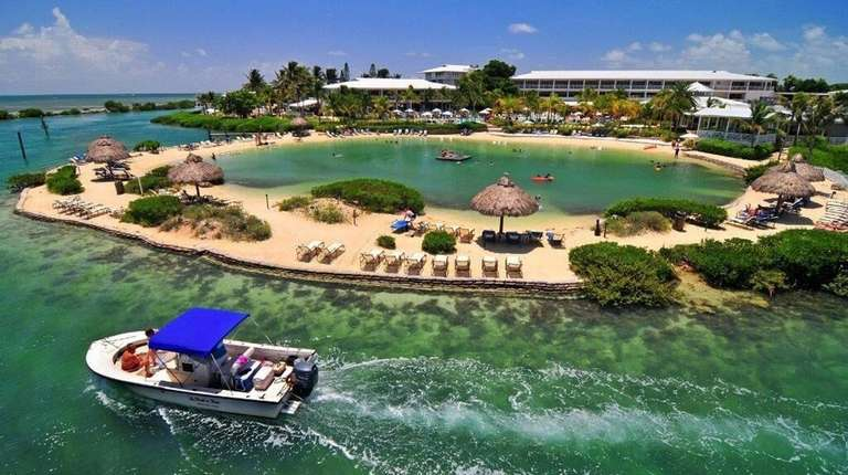 The reopened Hawks Cay Resort in the Florida