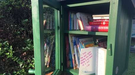 This Little Free Library is one of about