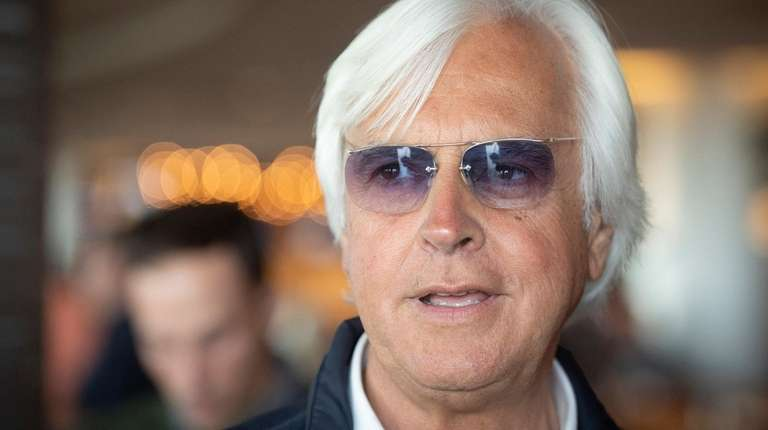 Bob Baffert before the start of the Draw