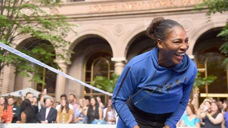 Serena Williams attends 2018 Lotte New York Palace
