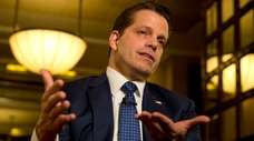 Former White House communications director Anthony Scaramucci in