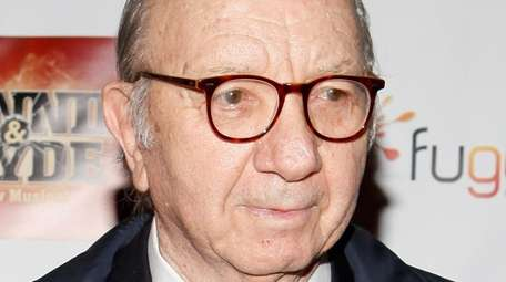 Playwright Neil Simon attends the Broadway opening night