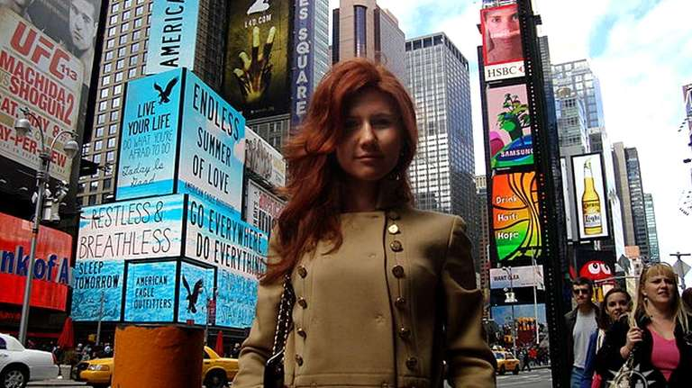 Anna Chapman's ex-husband has told a London paper