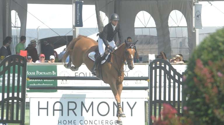 Shane Sweetnam during competition fi the $30.000 Boar's