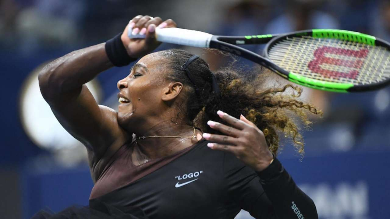 Serena Williams defeated 68th-ranked Magda Linette of Poland