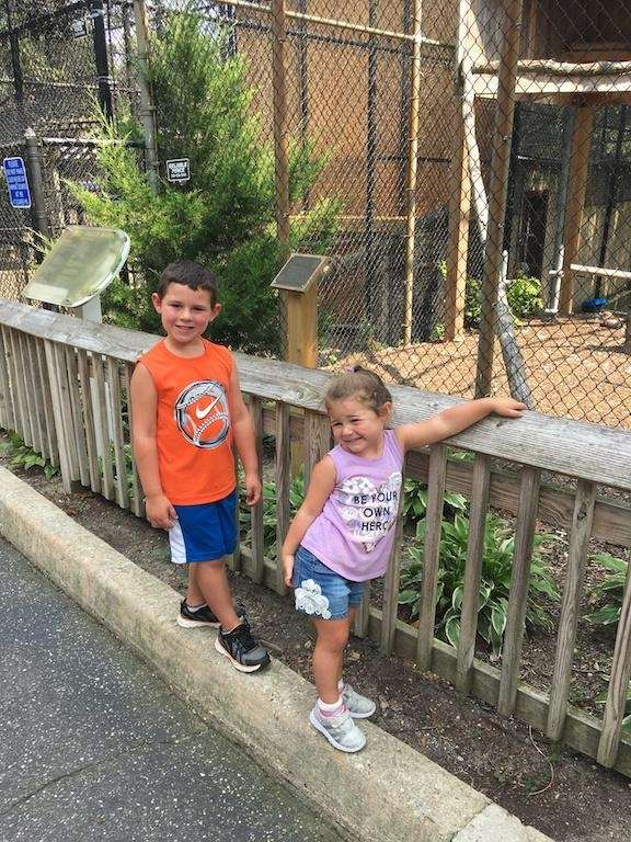 Vinny & Angelina at the Holtsville Ecology Center!