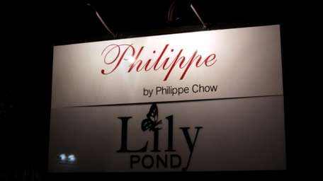 Front of Lilly Pond. Bikini Fashion Show at