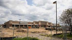 A Starbucks is being built in the parking