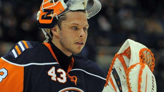 The Rangers have signed former Islanders goaltender Martin