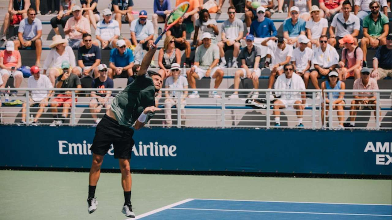 Noah Rubin's return to the U.S. Open ended