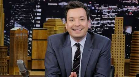 """""""Tonight Show"""" host Jimmy Fallon and his wife,"""
