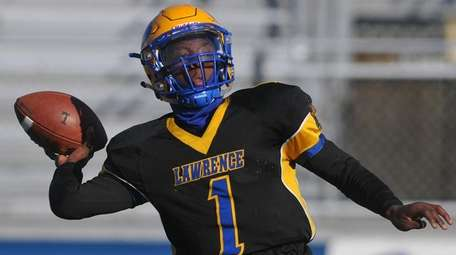 Lawrence's Christian Fredericks threw for 1,342 yards and