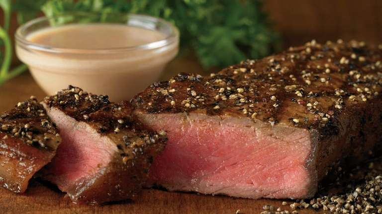 Peppermill steak is an occasional special at Outback
