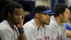 Jose Reyes missed six games with an oblique