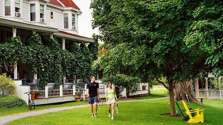 Basin Harbor Resort in Vergennes, Vermont, is located