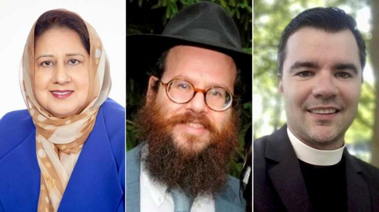 Dr. Isma H. Chaudhry, Rabbi Mendy Goldberg and