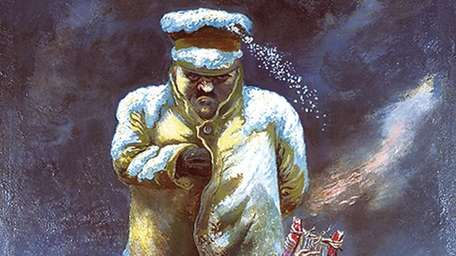 "George Grosz's ""A Mighty One on a Little"
