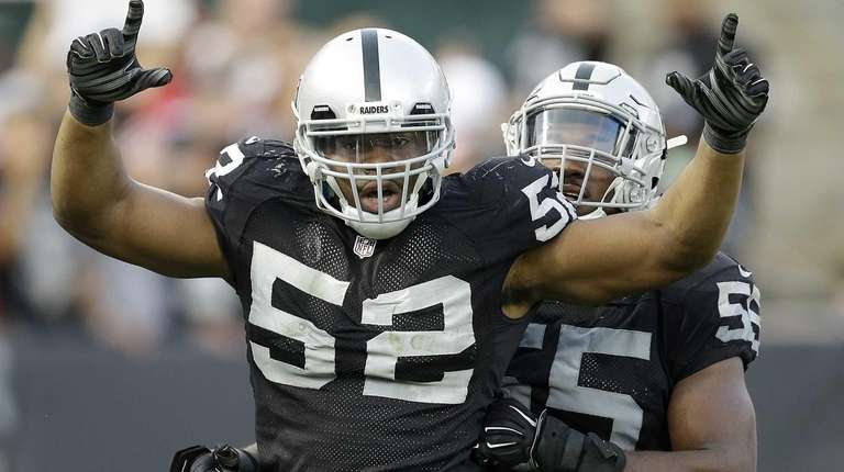 Oakland Raiders linebacker Khalil Mack would be a