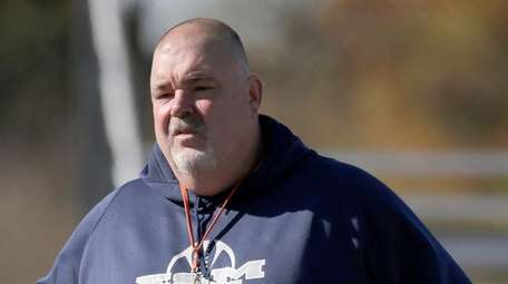 Bill Ashton coached the Eastport-South Manor football team