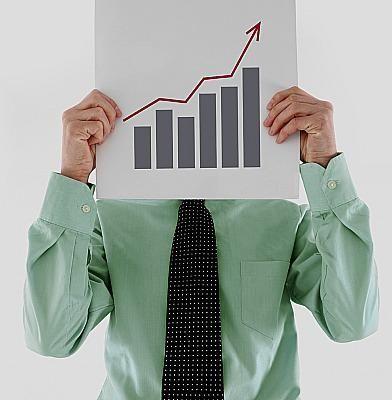 Man holding chart