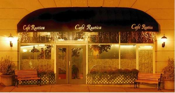The exterior of Cafe Rustica in Great Neck