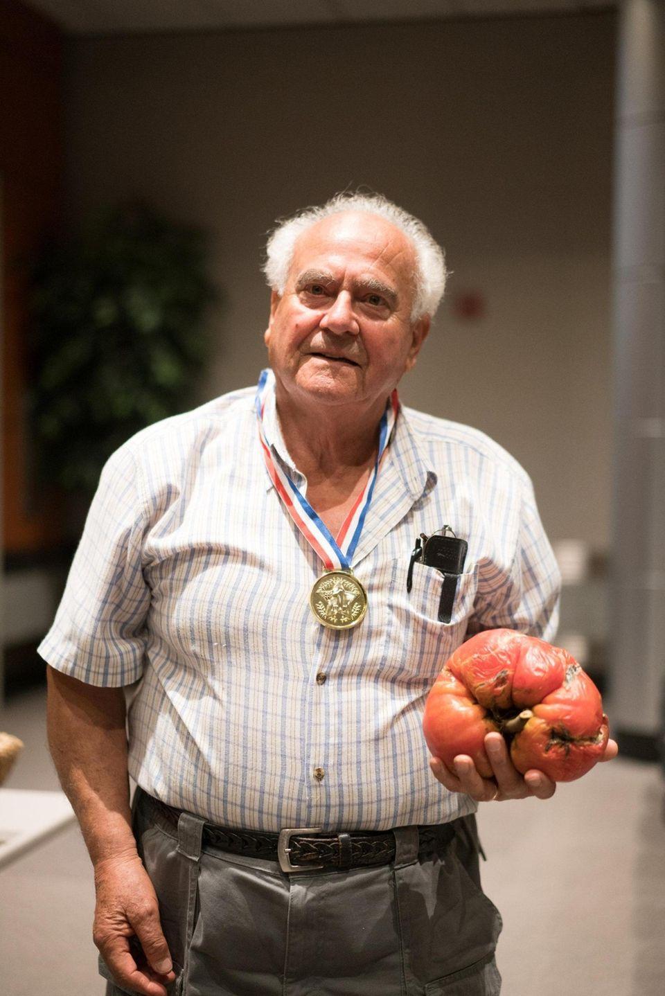 Anthony Maltese, 86, of Massapequa, winner of Newsday's