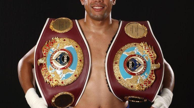 WBO Featherweight champion Juan Manuel Lopez