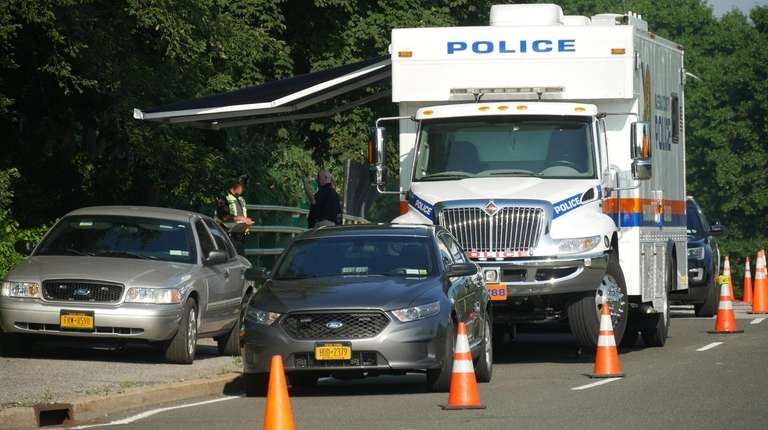 The Nassau County Police homicide squad at the