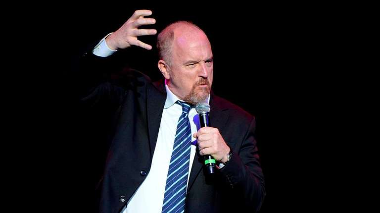 Louis c k 39 s possible stand up comeback began at an li Louis ck madison square garden december 16