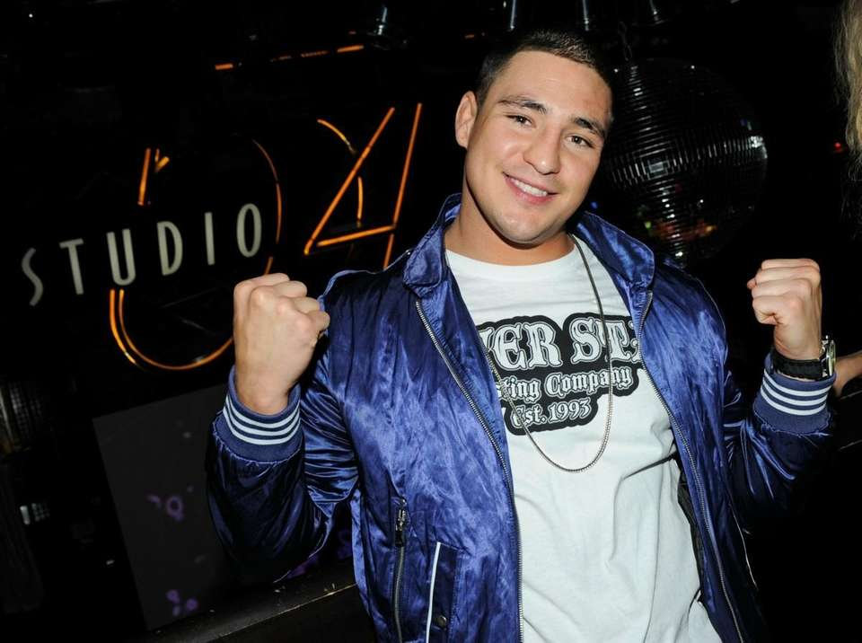 Mixed martial artist Diego Sanchez appears at