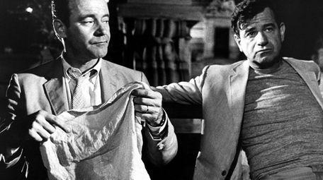 Jack Lemmon and Walter Mattheau in a scene