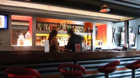 Bar at Kemistry in Mineola