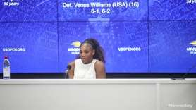 Serena Williams beat her sister Venus Williams in