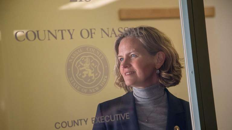 Nassau County Executive Laura Curran announced Wednesday the