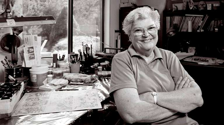 Marie Severin was one of the first women