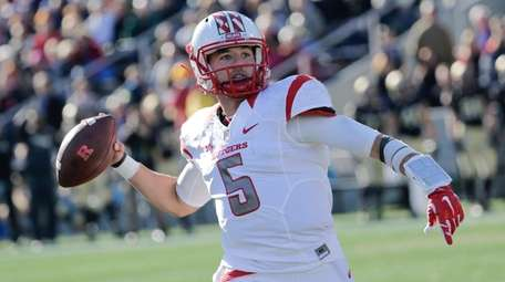 Chris Laviano playing for Rutgers in 2015. He