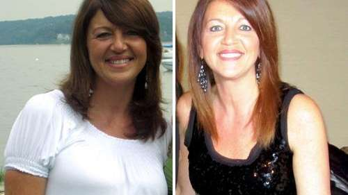 Debbie Boccio Connors of Northport lost 25 pounds