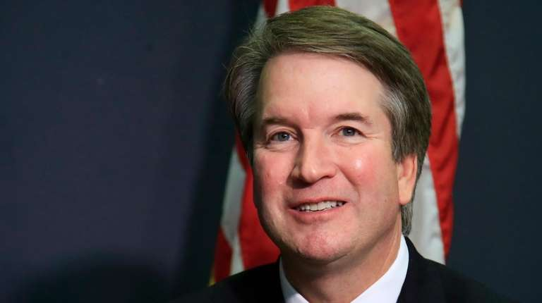 Supreme Court nominee Brett Kavanaugh, seen here on