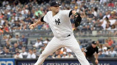 Lance Lynn allowed six runs as the Yankees
