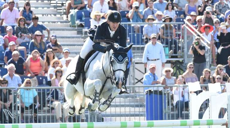 Riding atop HH Gigi's Girl, two-time gold medalist