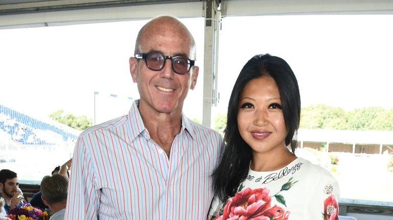 David Storper and Tina Storper attend the Hampton