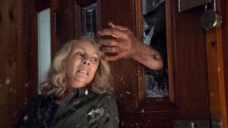 """Jamie Lee Curtis stars in """"Halloween."""""""