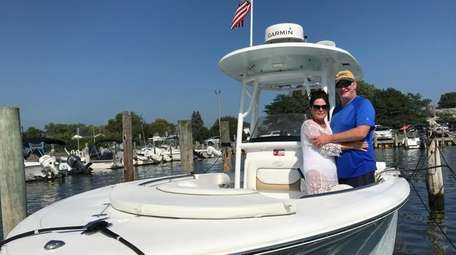 Maureen and Jim Mirabal of West Islip returned