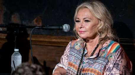 Roseanne Barr takes part in a special event