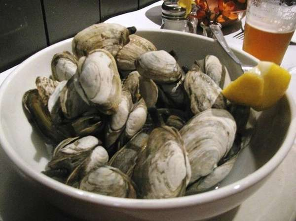 Steamers at Canterbury Ales Oyster Bar & Grill