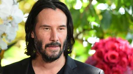 """Keanu Reeves attends the """"Destination Wedding"""" photo call"""