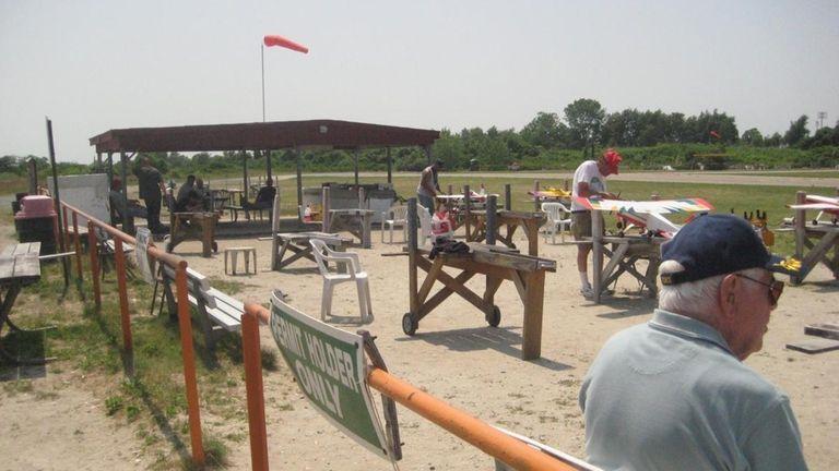 Cedar Creek Park's aerodrome for model plane enthusiasts