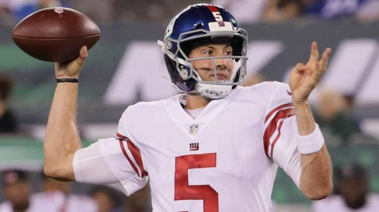 Former Giants quarterback Davis Webb is happy the