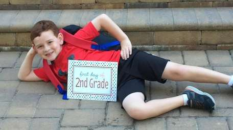 Aiden Flynn of Manhasset, 2nd Grade, Shelter Rock